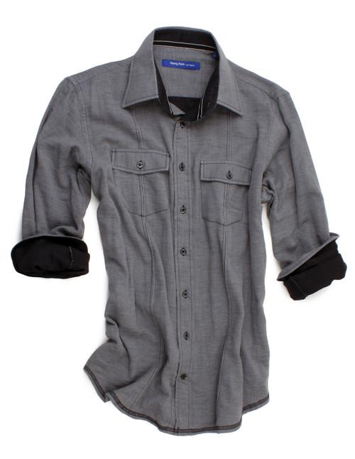 San Juan-40000-032-Long Sleeves-Mens-Shirt 1 LEFT SIZE SMALL
