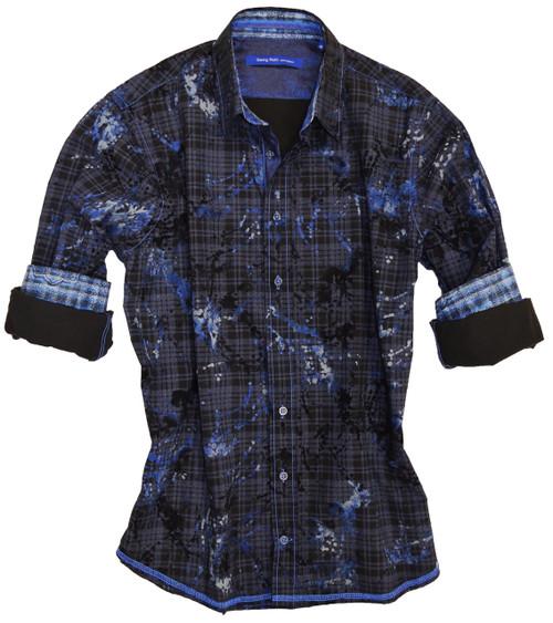 El Dorado-8071-023-Long Sleeve-Cotton-Men Shirt