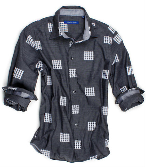 Buenos Aires 60033-006 Long Sleeves Cotton Mens Shirt