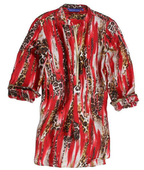 Didiayer B90025-760-Long Sleeves-Silk-Tunic