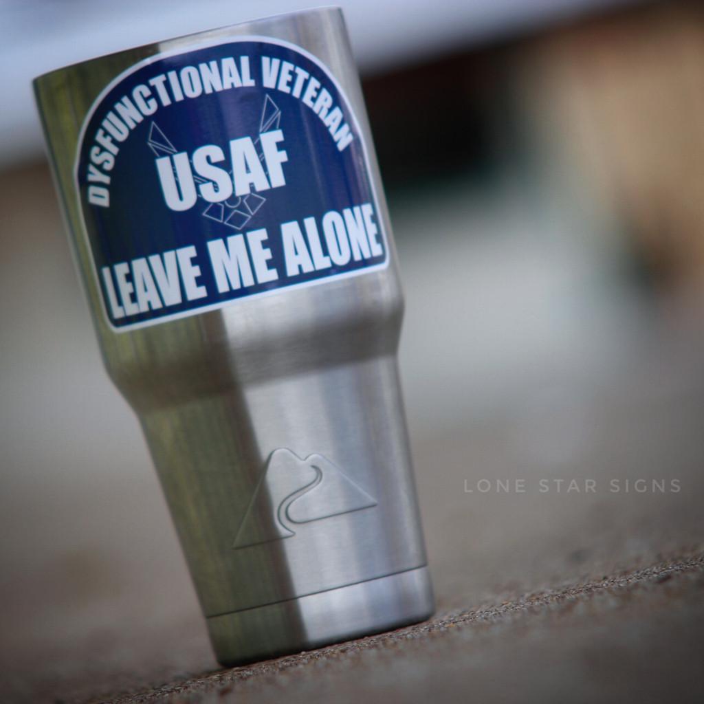 Dysfunctional Veteran Leave Me Alone