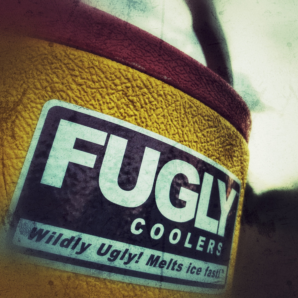 FUGLY Coolers Wildly Ugly! Melts Ice Fast!