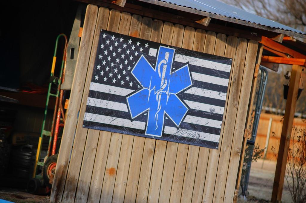 Paramedic EMT EMS Flag - Banner