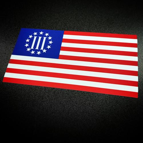 Three Percenters Flag