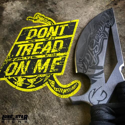 DON'T TREAD ON ME RATTLER - Sticker
