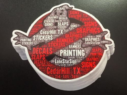 Ghostbusters w/words - Sticker
