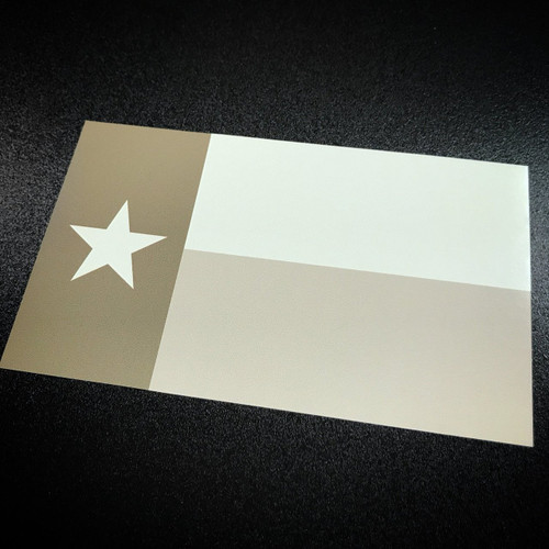 Texas Flag Tan - Sticker