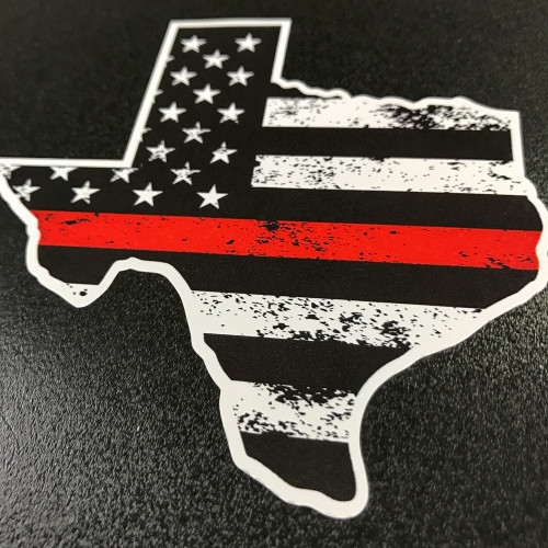 Texas Thin Red Line