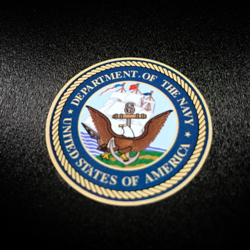 US NAVY Circle 6 Pack - Stickers