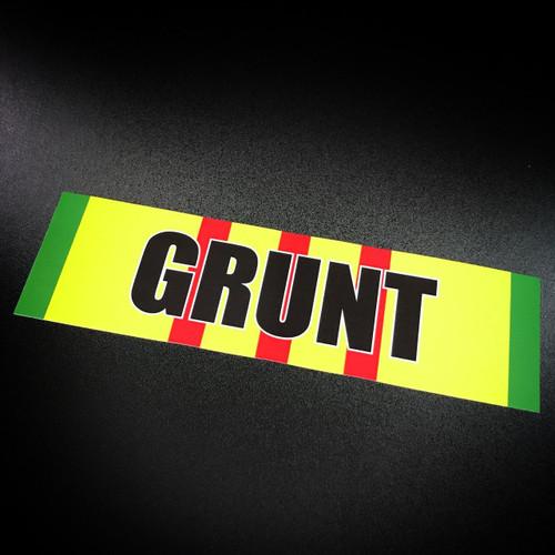 Vietnam Ribbon GRUNT - Sticker