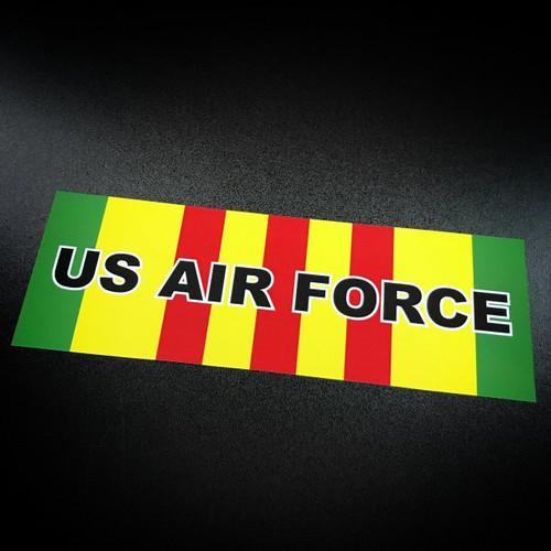 Vietnam Ribbon US Air Force - Sticker
