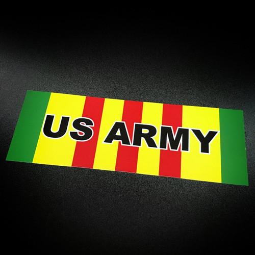 Vietnam Ribbon US ARMY - Sticker