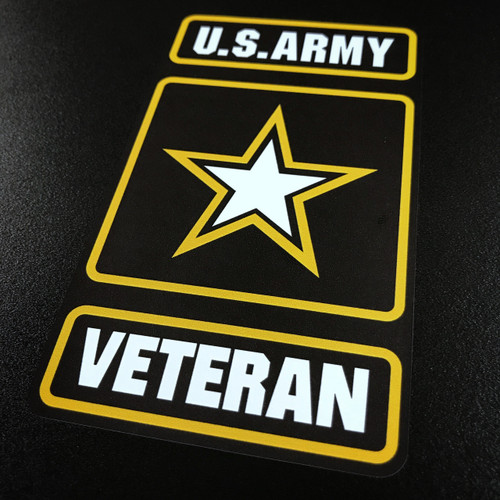 US ARMY Veteran - Sticker