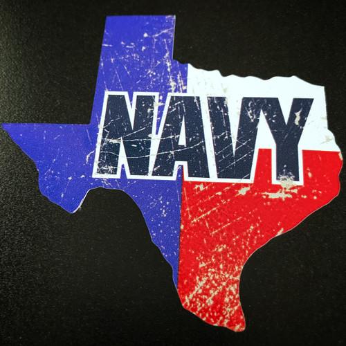Texas NAVY - Sticker