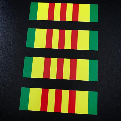 Vietnam Ribbon (4 pack) - Stickers