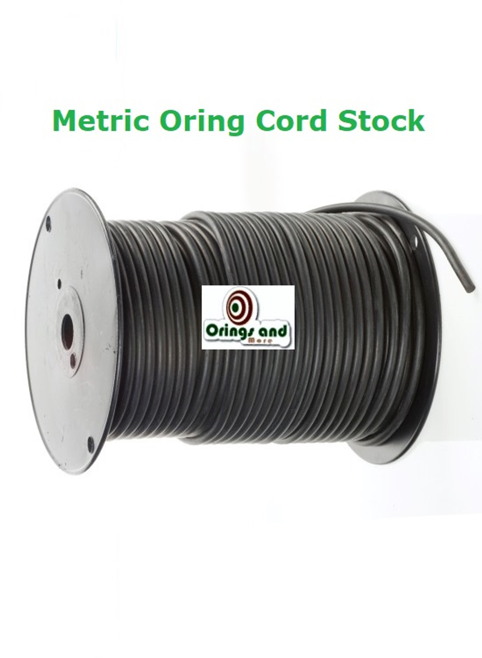 Metric O-ring Cord Buna Nitrile  1.5mm Price per Foot
