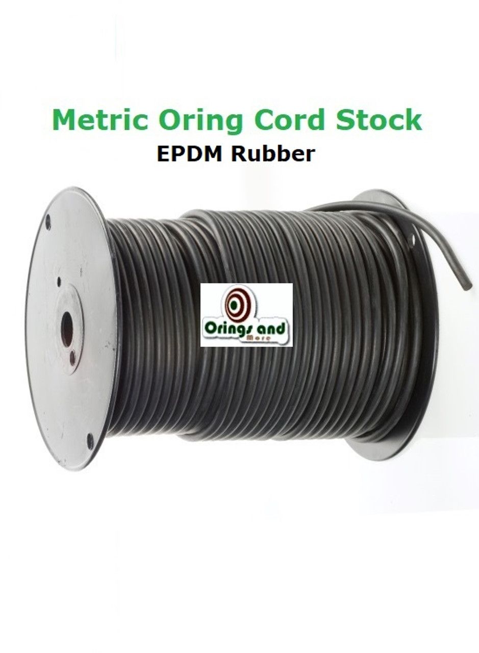 Metric 11mm O-ring Cord EPDM   Price per Foot