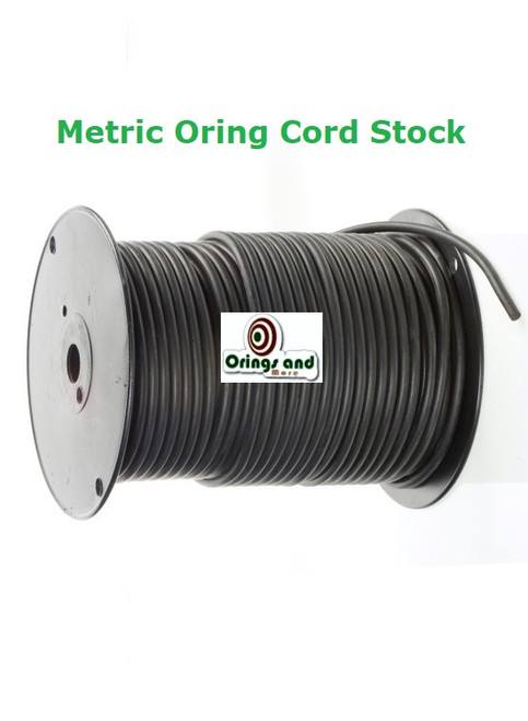 Metric O-ring Cord Buna Nitrile  11mm Price per Foot