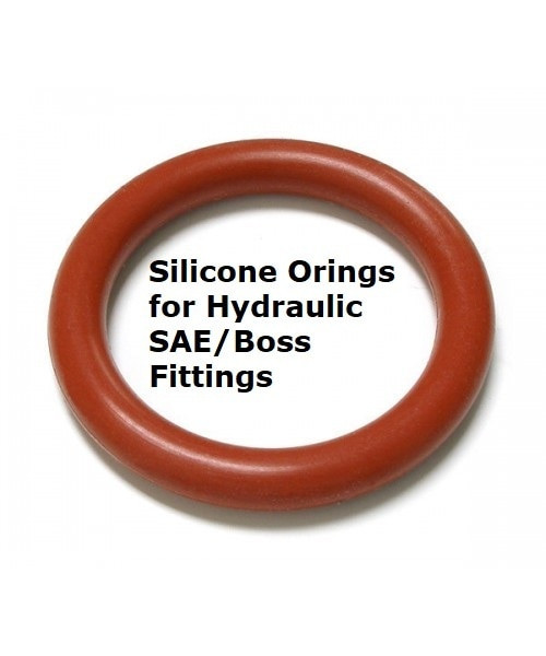 Silicone Orings for SAE/BOSS threads #916 10 pcs