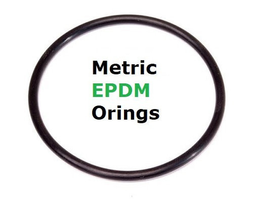 Metric EPDM 70  Orings 6.02 x 2.62mm  Price for 50 pcs