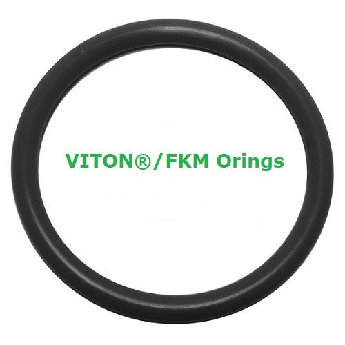 Viton Heat Resistant Black O-rings  Size 341 Price for 1 pc