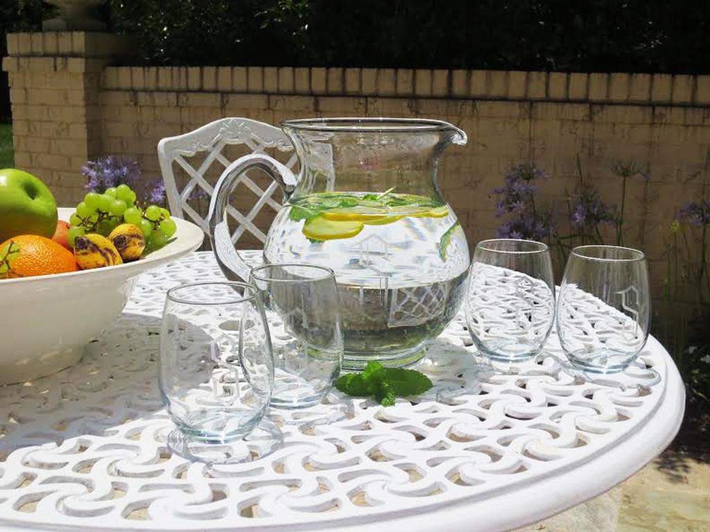 Personalized Copa Cabana Drink Set