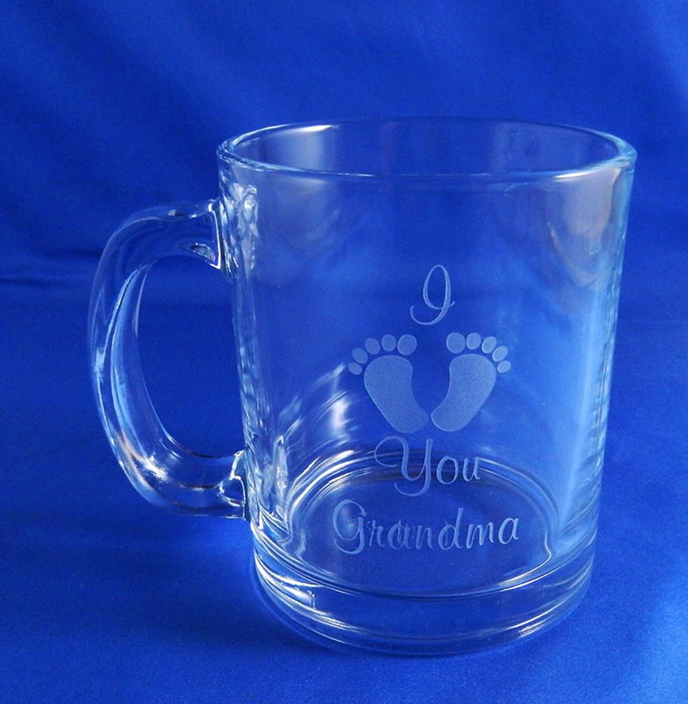 Personalized I Heart Grandma Coffee Mug