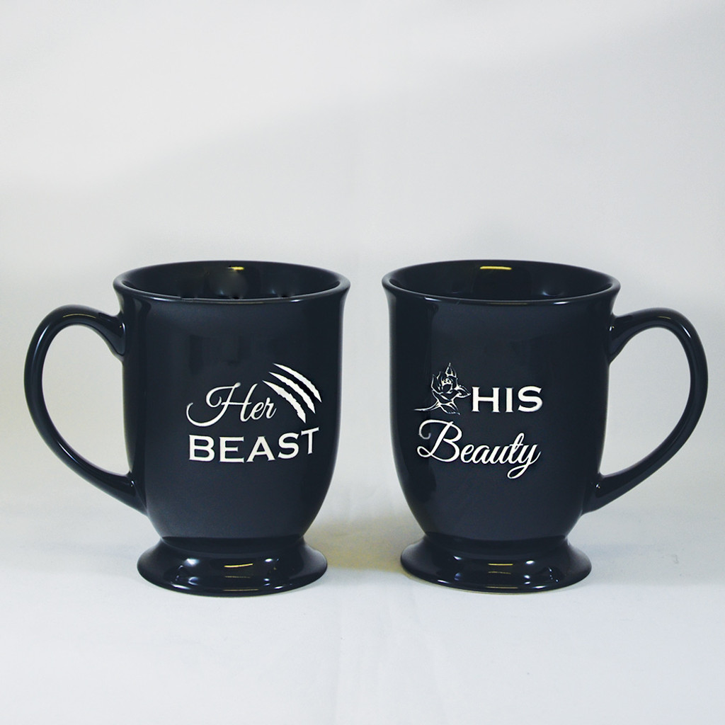 Personalized His and Hers Coffee Mug Set
