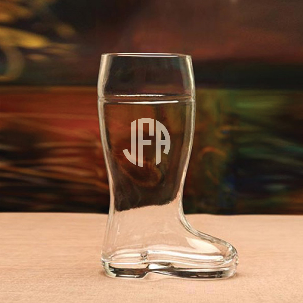 Personalized Half-Liter Beer Boot