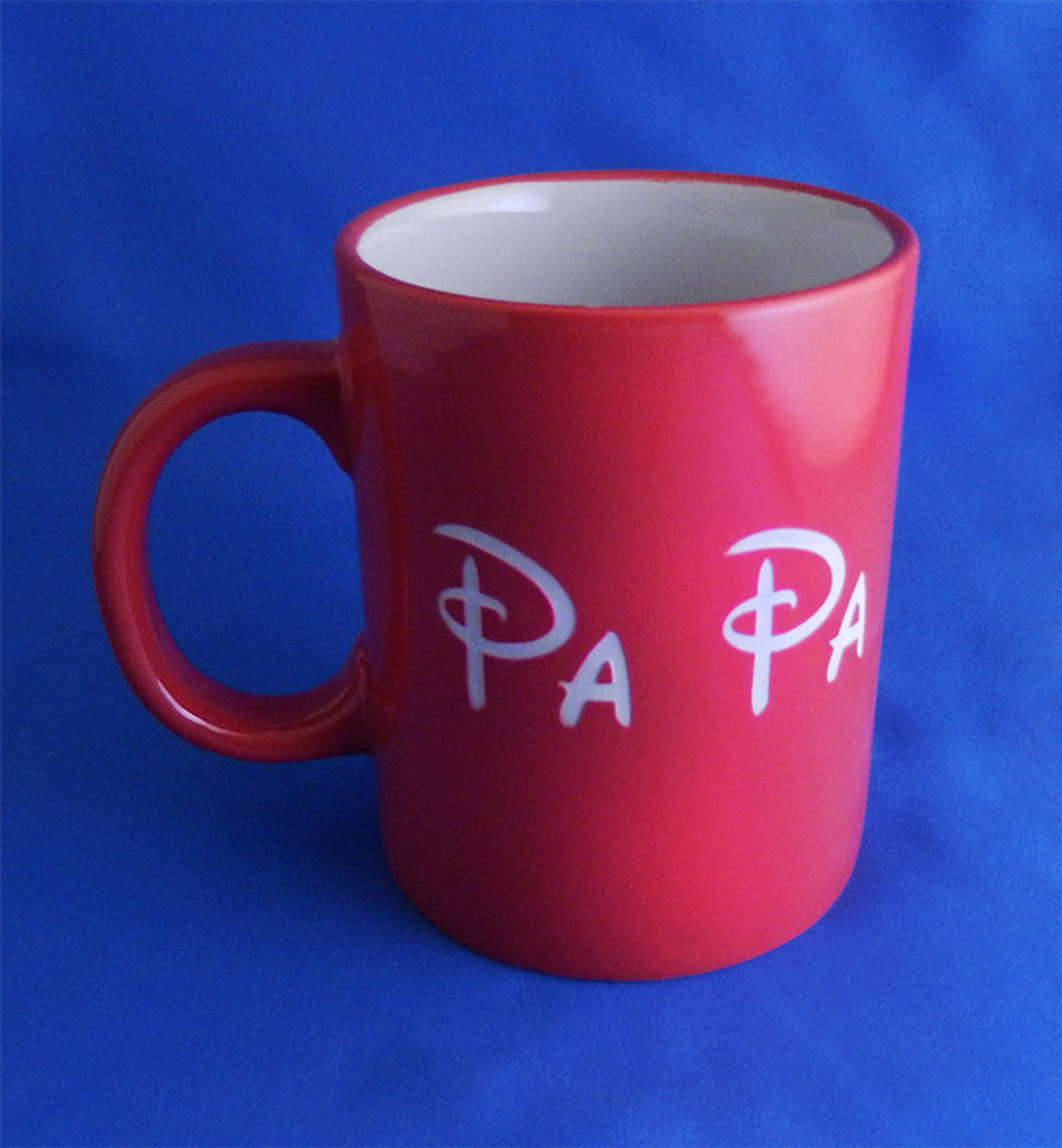 Personalized Red Ceramic Standard Coffee Mug