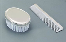 Monogrammed Comb and Brush Set - Boys