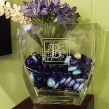 Personalized U-Shaped Vase, 3 Sizes