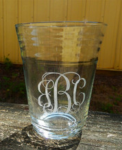 Personalized Solo Cup Glass