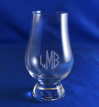 Monogrammed Whiskey Tasting Glass