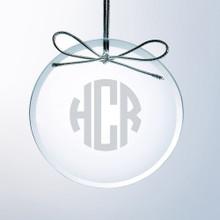 Personalized Flat Circle Ornament