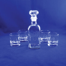 Personalized Dunbar Decanter Set