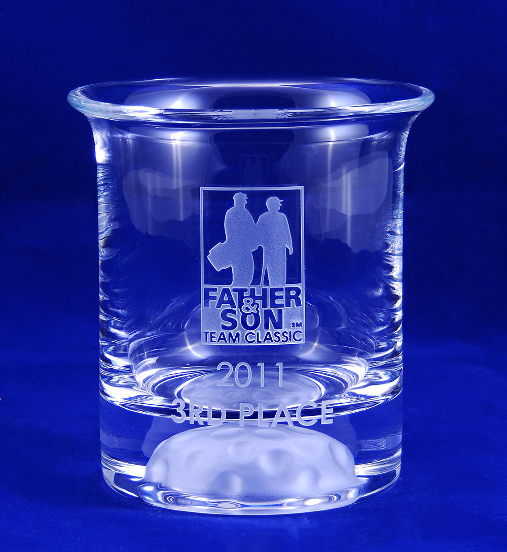 Glass Trophy Cup