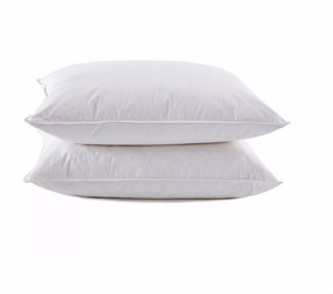 Now there's an alternative to down and feather pillows. The hypoallergenic Sweet Dreams pillow is power filled with a resilient gel fiber that shifts to accommodate your head. The fiber is silky smooth and ultra thin to mimic the feel of feather and down. The Sweet Dream Pillow features a luxurious, 300 thread count 100% cotton cover and double needle corded edges. Durable for long lasting comfort. Highly Machine Washable.     Resilient gel fiber 300 thread count 100% cotton cover Double needle corded edges Highly Machine Washable     Call 855-468-3528 or click here to email us about large quantity purchases.      (Note: The digital images we display have the most accurate color possible. However, due to differences in computer monitors, we cannot be responsible for variations in color between the actual product and your screen.)