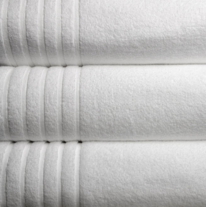 The Luxe Towel Collection is a lightweight yet thick terry, these towels can retain three times more dampness by weight than the normal towel. Exceptionally delicate, white and cushioned Monarch Luxe MicroCotton terry is the most spongy, snappy drying cotton towel available.  Wash Cloth: 13x13 Hand Towel:20x32 Bath Towel:17x54 Bath Sheet:34x70 Call 855-468-3528 or click here to email us about large quantity purchases.