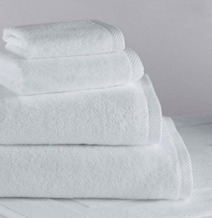 "The Classic® Towel Collection is a collection of white, ring spun classic towels. 100% cotton. Designed for industrial use. Highly Machine Washable.     White, ring spun classic towels 100% cotton Designed for industrial use Highly Machine Washable   Wash cloth: 12"" x 12"" Hand towel: 16"" x 30"" Bath towel: 27"" x 54"" Bath Sheet: 36"" x 70"" Bath Mat: 22"" x 34""    Call 855-468-3528 or click here to email us about large quantity purchases.     (Note: The digital images we display have the most accurate color possible. However, due to differences in computer monitors, we cannot be responsible for variations in color between the actual product and your screen.)"