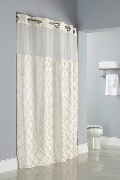 Pintuck Hookless Shower Curtain, Pintuck, Hookless, Shower, Curtain, hookless, focus group, bulk
