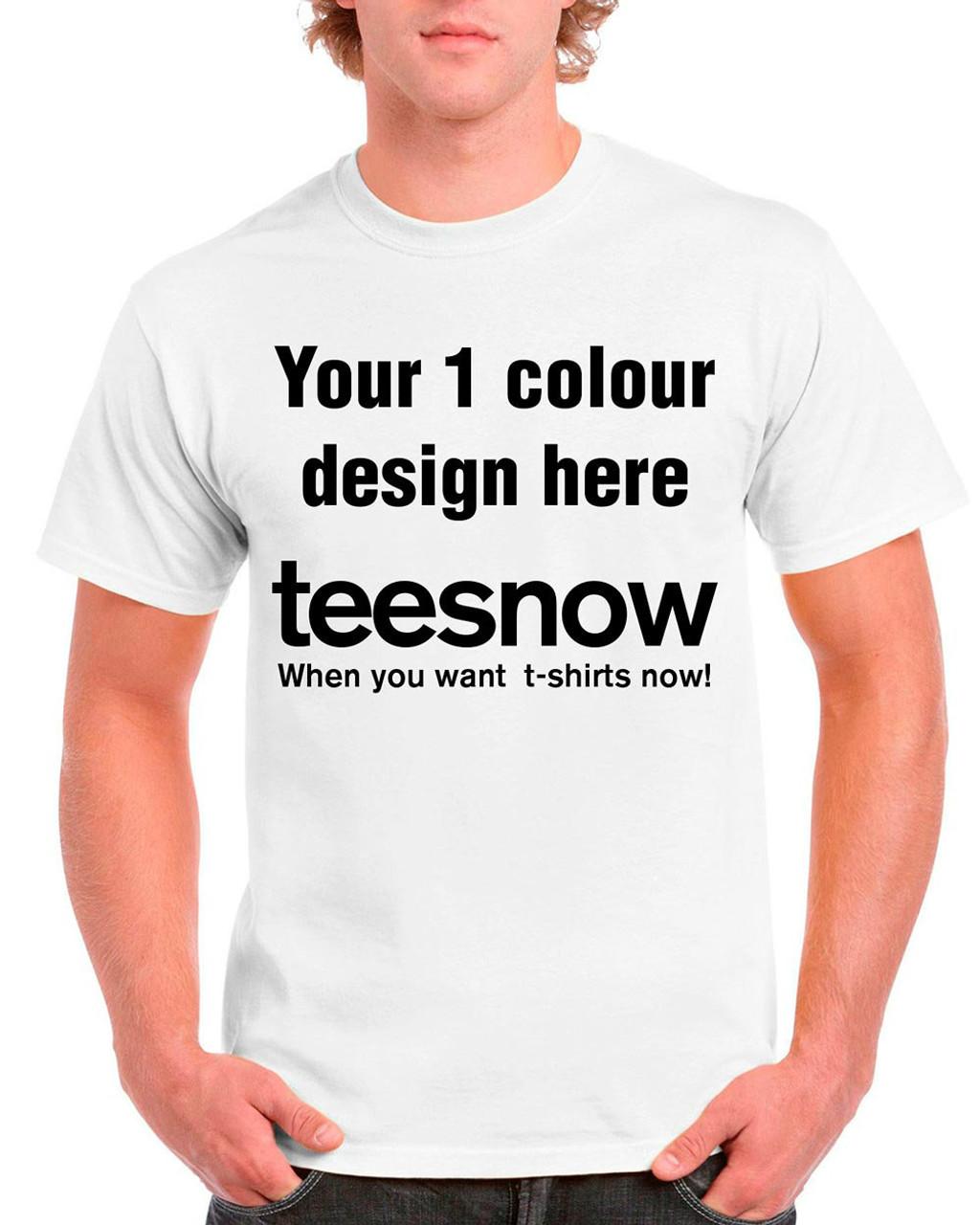 Cheap Custom T Shirts No Minimum Order