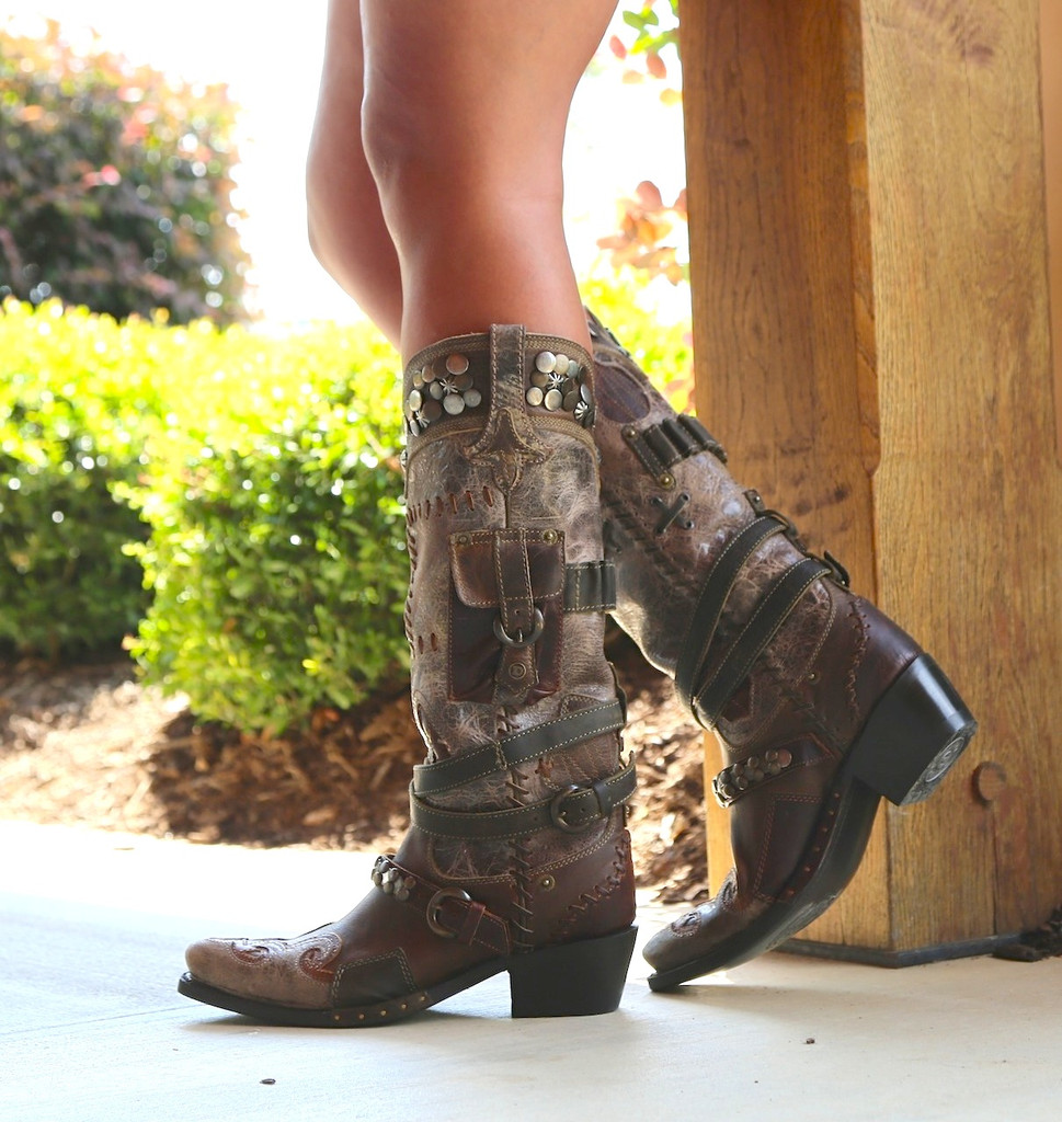 Lane for Double D Ranch Frontier Trapper Boots DD9004A Photo