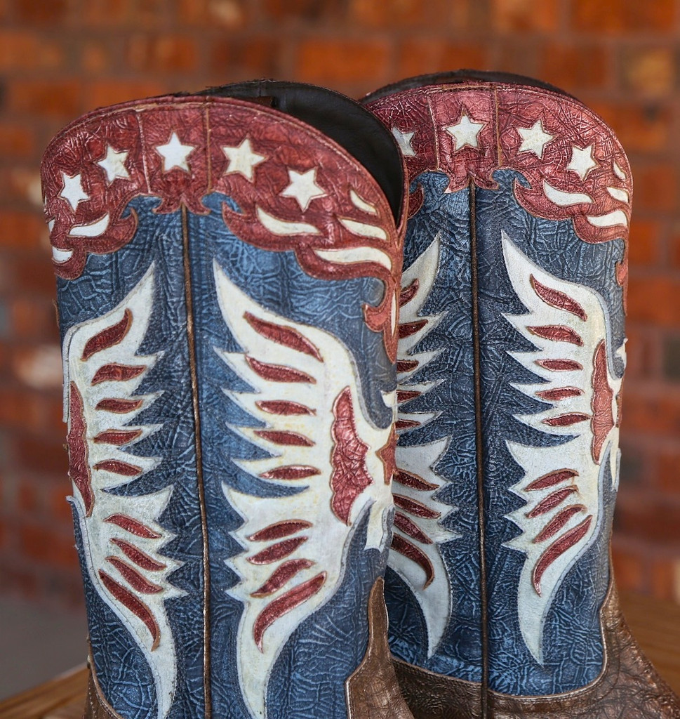 Lane for Double D Ranch Star Spangled Rodeo Boots DD9034A Collar