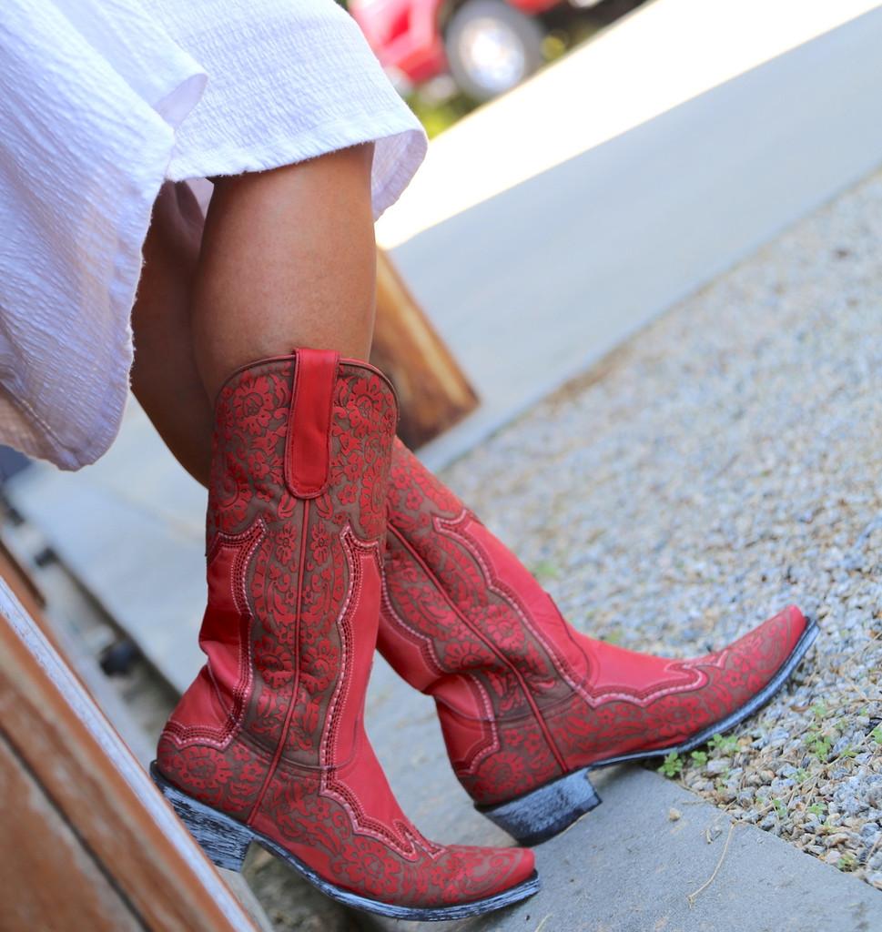Old Gringo Rosita Pink Boots L2831-1 Photo