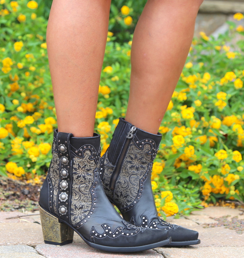 Double D by Old Gringo San Antonio Rose Boots DDBL010-1 Photo