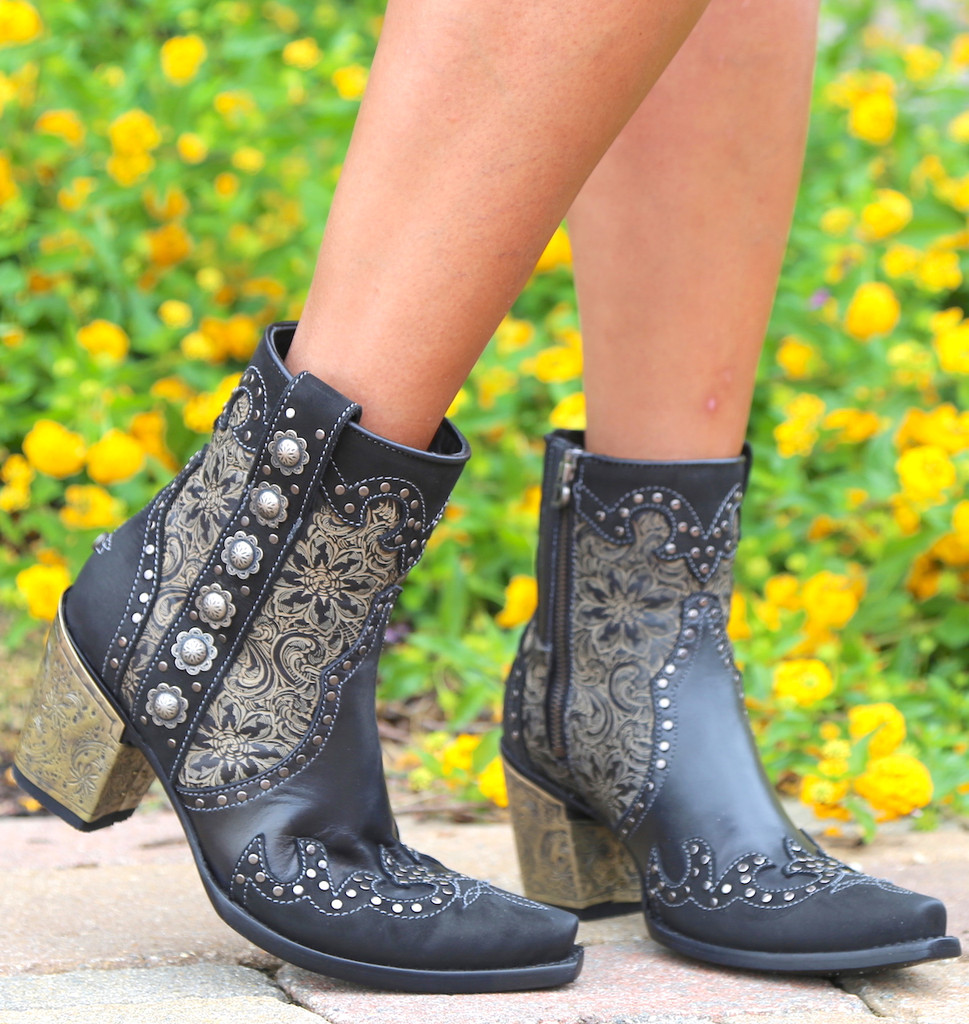 Double D by Old Gringo San Antonio Rose Boots DDBL010-1 Picture