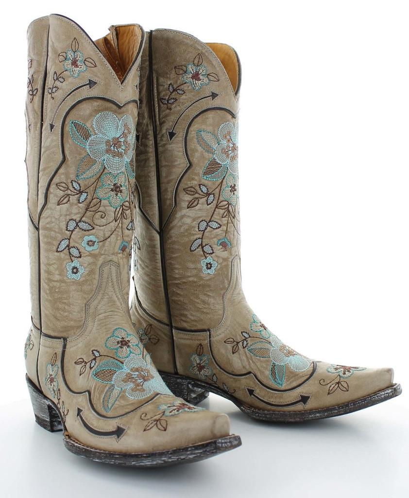 Old Gringo Bonnie Bone Turquoise Boots L696-11 Picture