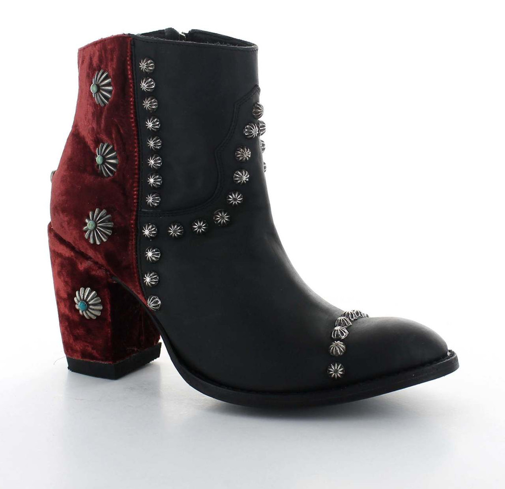 Double D by Old Gringo Tahoma Black Wine Boots DDBL006-3 Photo