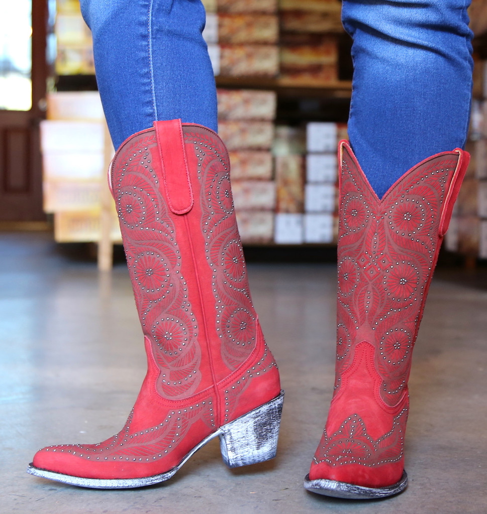 Old Gringo Valentine Red Boots L2774-2 Photo